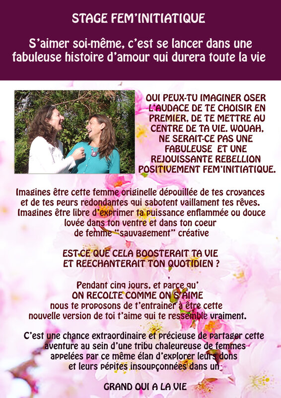 STAGE FEM'INITIATIQUE ETE 2019