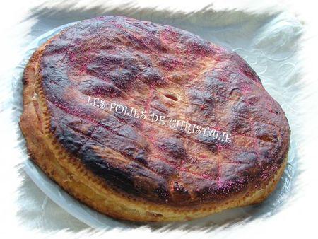 Galette des rois biscuits roses 11