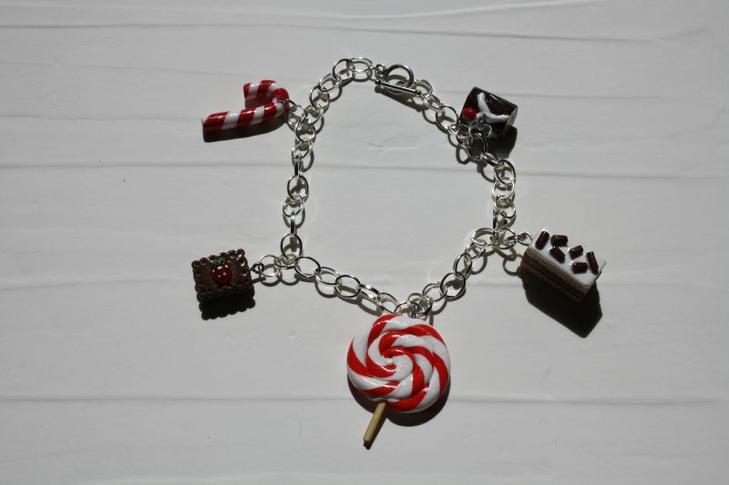 bracelet gourmand rouge