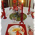 Table de Noël 110