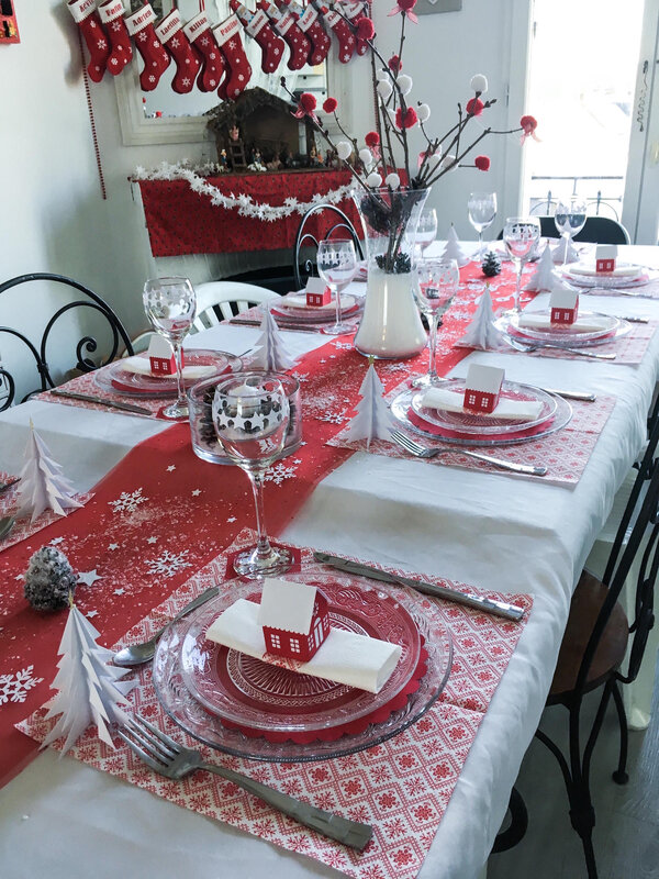 deco table Noel 2018 2