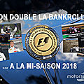 On double la bankroll ... à la mi-saison 2018 !