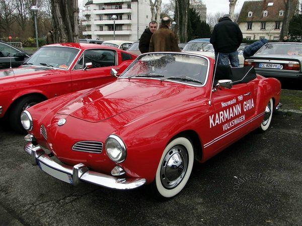 volkswagen karmann ghia cabriolet 1969 3