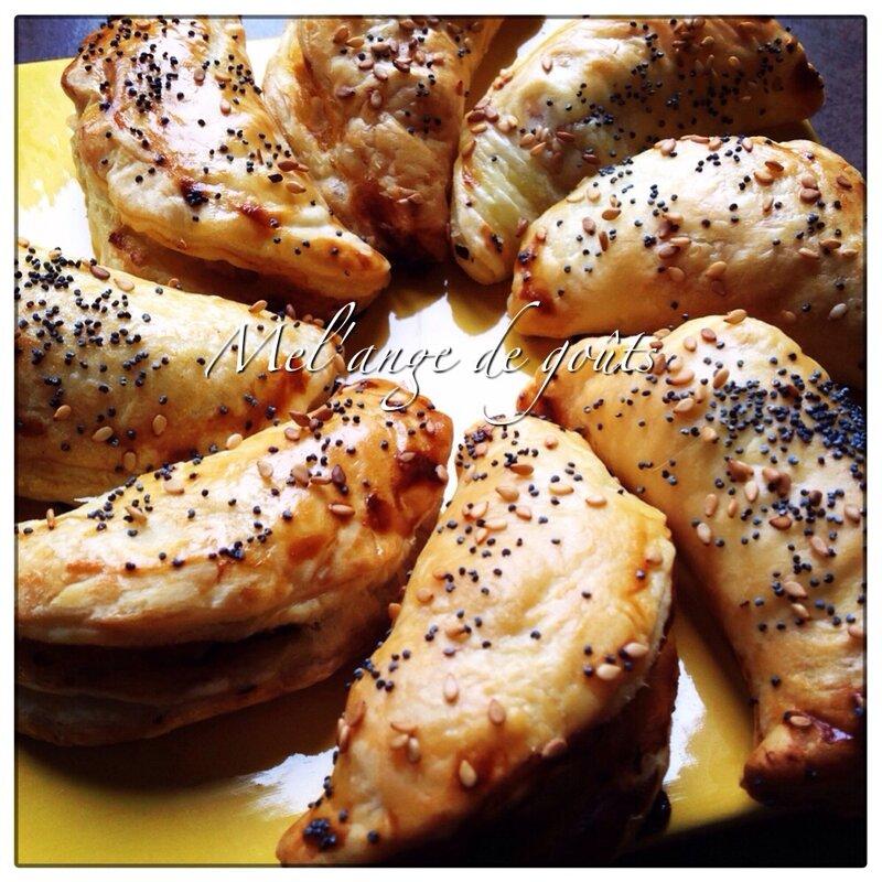 Chaussons au poulet