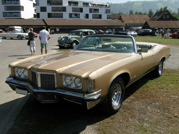 pontiac grand ville convertible 1972 3