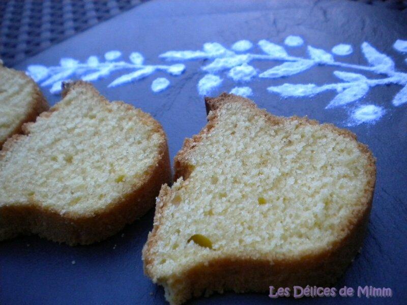 Bolo de fubá (gâteau brésilien) 3