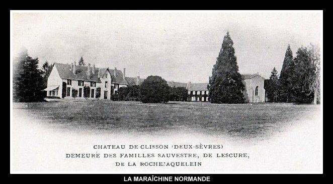 Boismé Château de Clisson