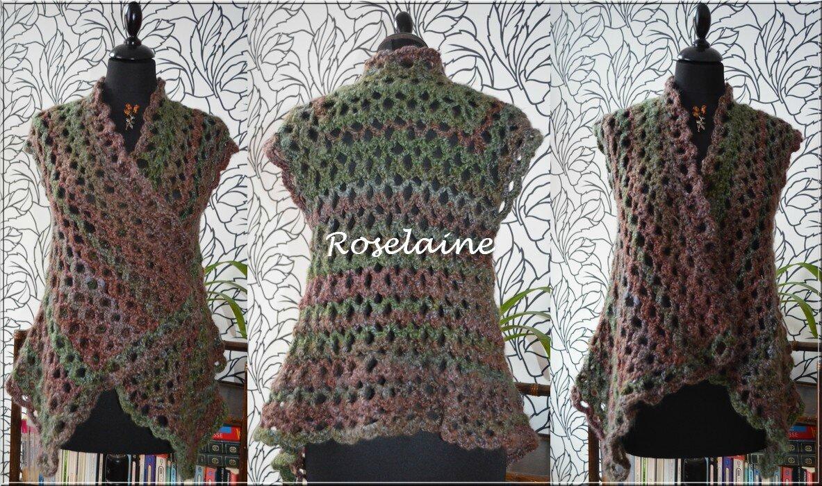 Roselaine 117 veste crochet