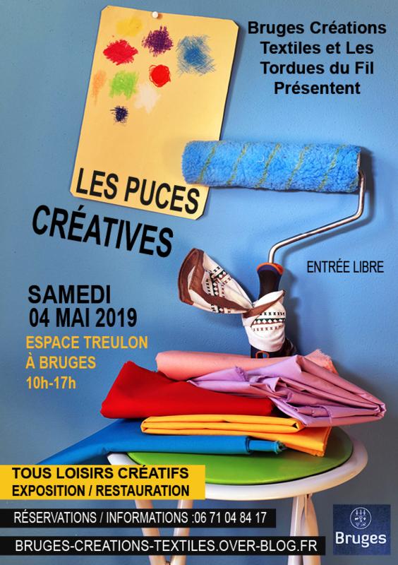 Affiche Puces 2019