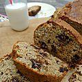 Avec le banana bread aux pépites de chocolat, booste ton petit déjeuner !