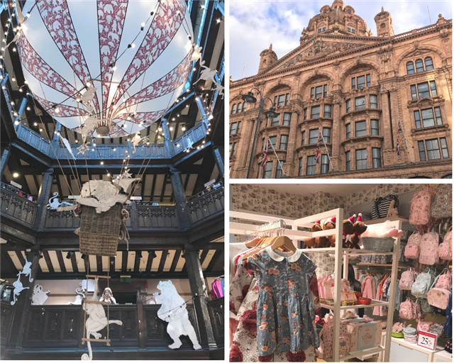 Liberty & Harrod's ©Kid Friendly