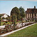 Baccarat 2 - la roseraie du parc - datée 1970