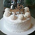 Layer cake façon raffaello coco