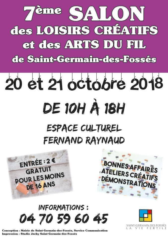 affiche salon st germain 2018