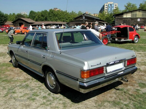 toyota crown 2,8i deluxe 1980 b