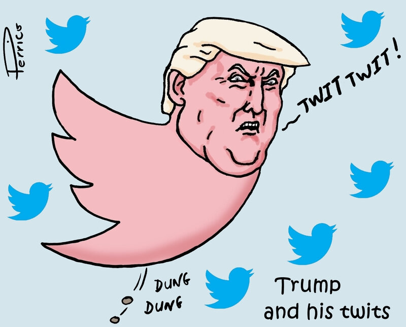 Trump and his twits - 19 février 2019