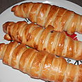Caterpillar bread au poulet