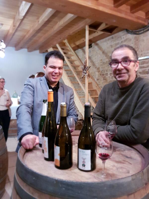 chez cathytutu inauguration nouveau caveau de degustation du vin le bouc et la treille poleymieux au mont dor (5)