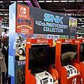 Stand JV - SNK collection sur Nintendo Switch