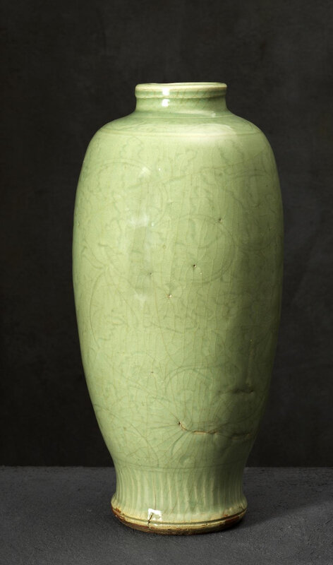 Vase rouleau, Chine, Dynastie Ming (1368-1644)