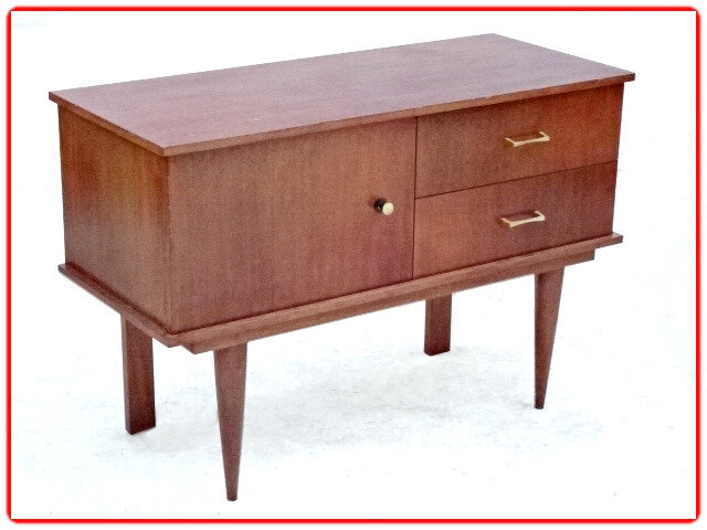 coiffeuse commode vintage 1970