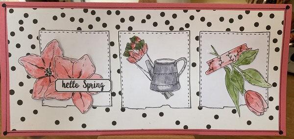 carte printemps Maêlle