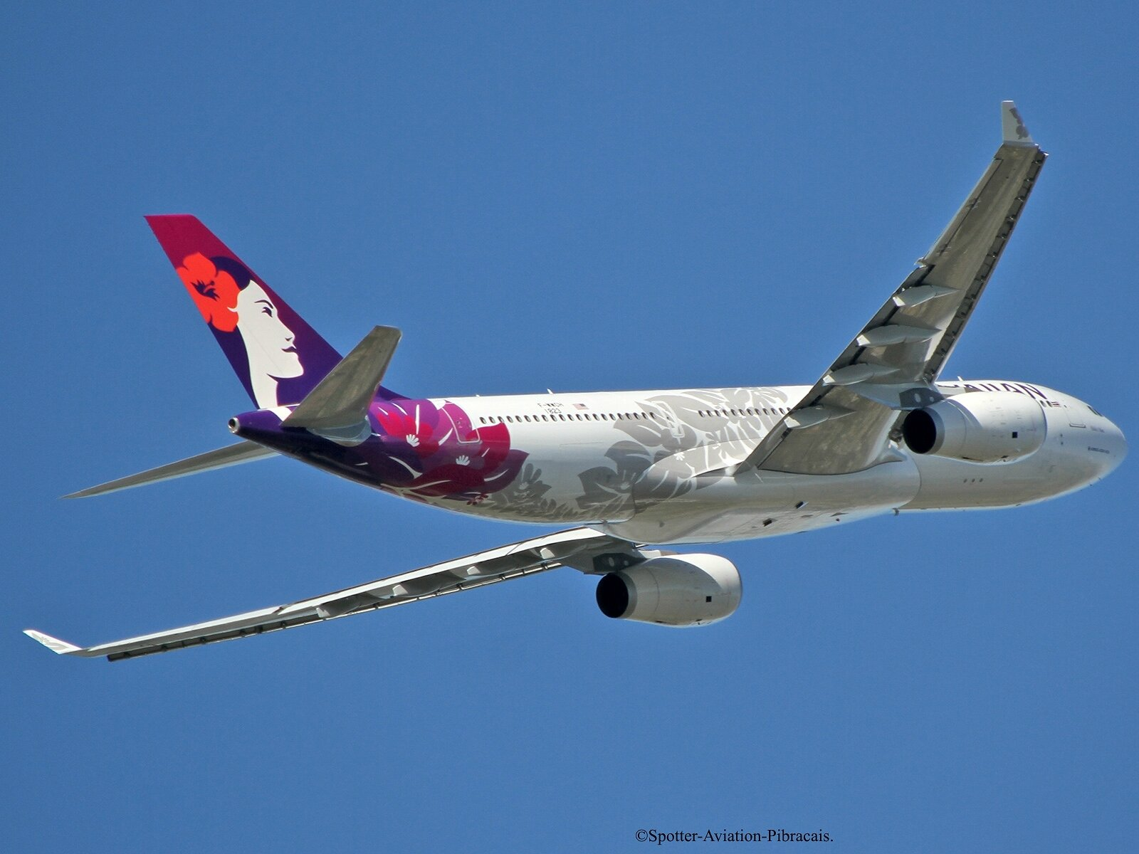 Hawaiian Airlines. NEW LIVERY.