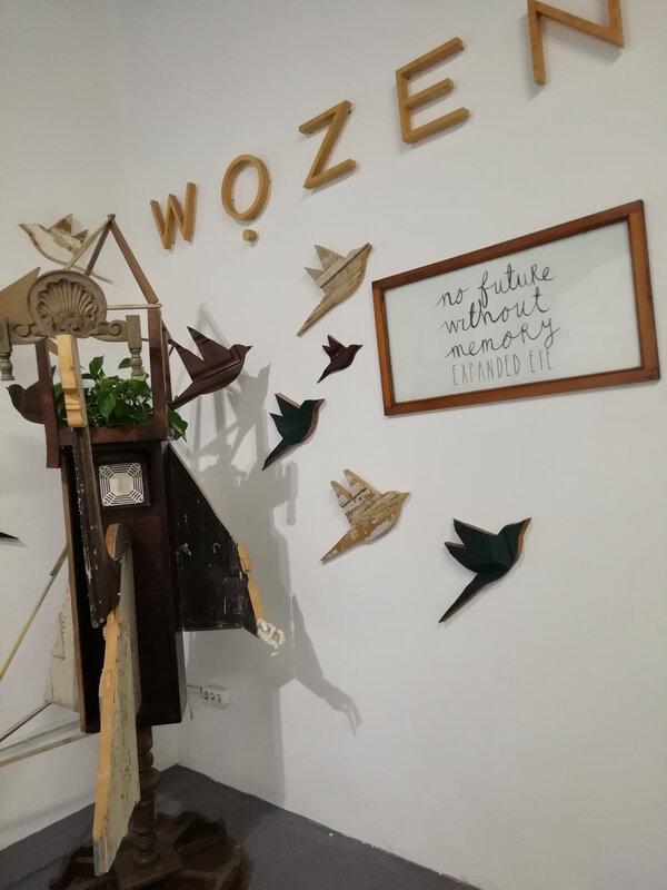 wozen galerie the birds