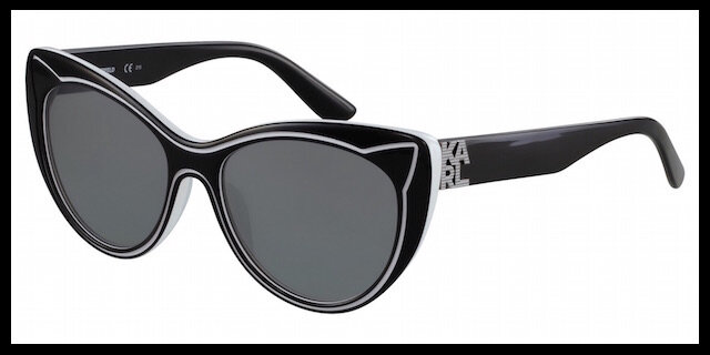 karl lagerfeld lunettes solaires piping 2