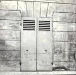 Blancard, graffiti sur volet