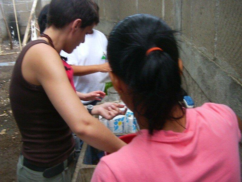 E005 SORTIE AU ZOO : PREPARATION DES SANDWICHS ET DU LAIT AU CHO