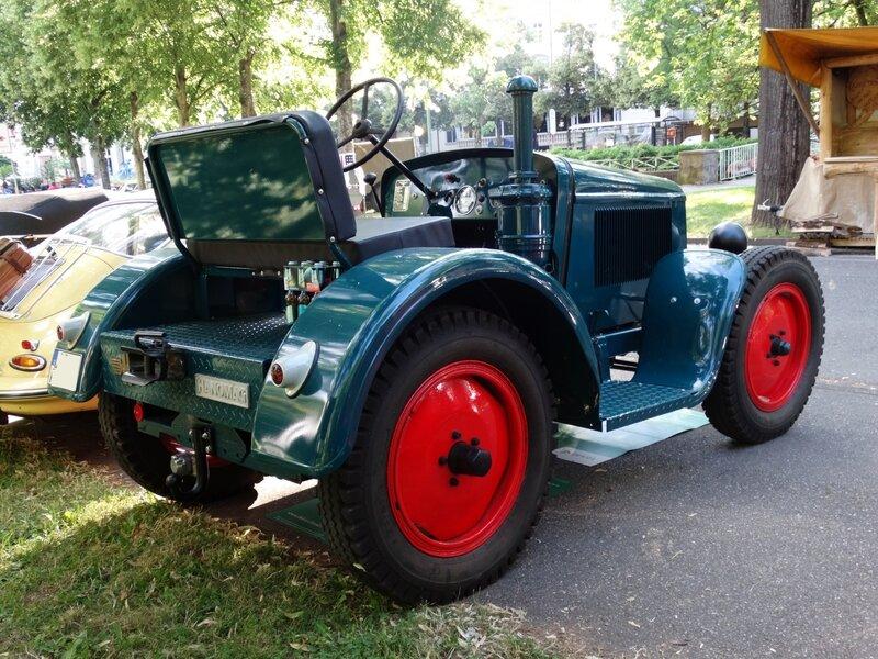 HANOMAG RL20 Bauernschlepper 1939 Baden Baden (2)