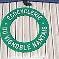 Ouverture de l'ecocyclerie du vignoble nantais...