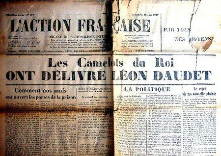 Journal_AF_Liberation_de_Leon_DAUDET