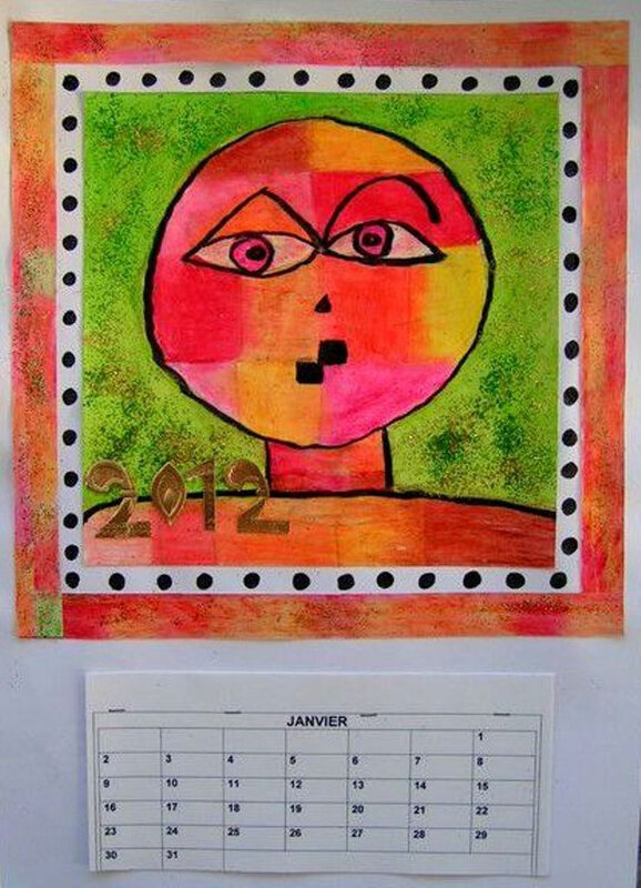 5-Chaud Froid-Portraits inspiration Paul Klee (101)-001