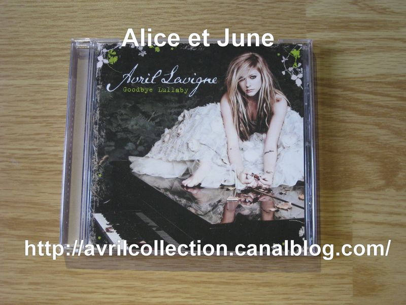 CD Goodbye Lullaby-édition simple-version canadienne (2011)