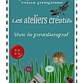 Ateliers de printemps à illkirch