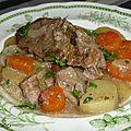 Irish stew a la mijoteuse