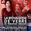 la ménagerie de verre au théâtre de poche montparnasse : une pièce qui confine à la grâce inouïe!