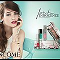 French innocence - my french palette - lip lover - vernis à ongles in love - collection printemps 2015 - lancôme
