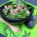 Sarrasin aux figues et aux pois gourmands