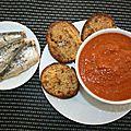 soupe de sardines en boîte