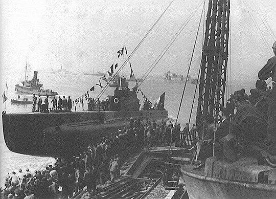 creole_lancement_cols_bleus_540 en 1940