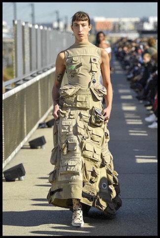marine serre robe multi poches