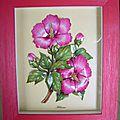 hibiscus en 3D offert à Mimi à Noël 2008