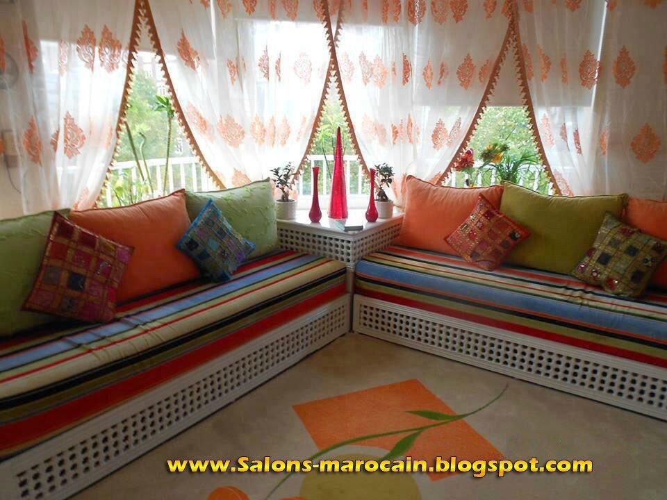 Salon marocain moderne oriental - Salon marocain moderne 2014