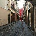 les rues du quartier colonial