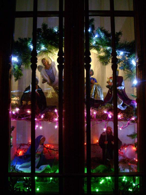 Fenêtre illuminée