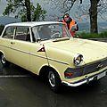 Opel rekord p2 1700 berline 2 portes, 1960 à 1963
