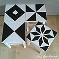 Tabouret ikea relooking carreau de ciment